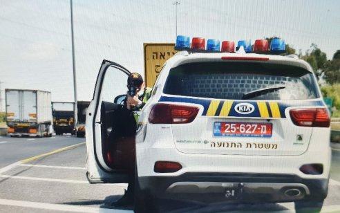 """במהלך השבוע נתפסו 55 נהגים שהיו בהשפעת אלכוהול/סמים בעת הנהיגה, כ- 4,000 דו""""חות נרשמו"""