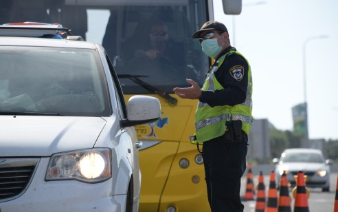 """פעילות אכיפה בכבישים השבוע: מעל 4,200 דו""""חות נרשמו, כ- 1,000 מתוכם, נהגים שעשו שימוש בנייד בנהיגה"""