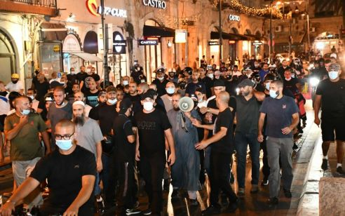 עימותים אלימים במחאה נגד פינוי בית קברות ביפו – ארבעה מתפרעים נעצרו