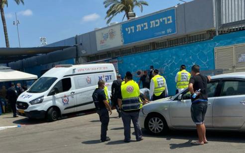 רוכב אופנוע בן 22 התנגש בקיר בתל אביב – ונהרג