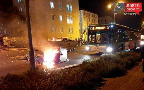 עימותים בין שוטרים לאזרחים לאחר רישום דוח בגין אי עטיית מסכה במאה שערים בירושלים – 2 חשודים נעצרו
