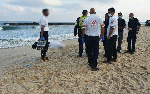 גבר בן 70 טבע למוות בחוף בר כוכבא באשקלון