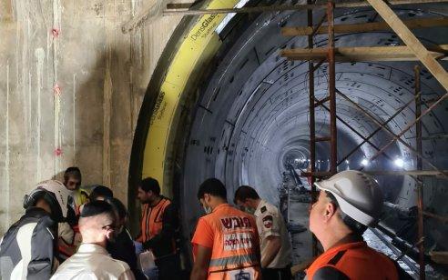 בני ברק: מתקן כבד נפל על פועל באתר העבודות של הרכבת הקלה – מצבו קשה