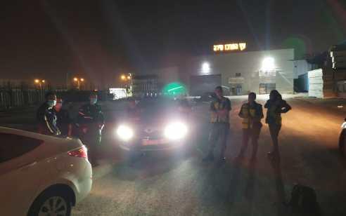 בפעילות אכיפה ממוקדת באזור טירה הורדו מהכביש 8 כלי רכב בגין שיפורים שבוצעו באופן לא חוקי