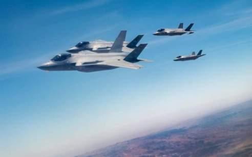 ישראל וארה״ב תרגלו תקיפה משותפת עם מטוסי F35