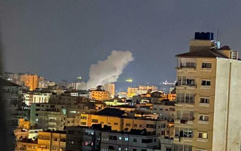 """בתגובה להמשך הפרחת בלוני הנפץ והתבערה: צה""""ל תקף יעדי חמאס ברצועתעזה – הכנסת הדלק הופסקה"""
