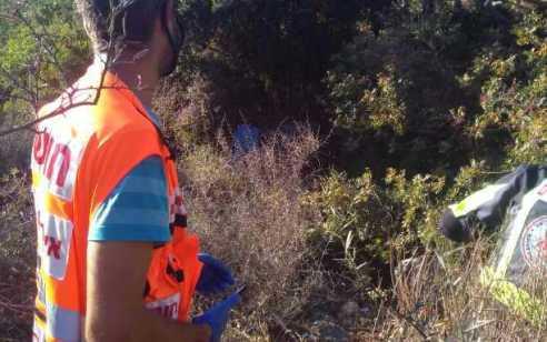 רוכב טרקטורון נפצע בינוני בתאונה עצמית בסמוך לישוב גָרְנוֹת הַגָּלִיל
