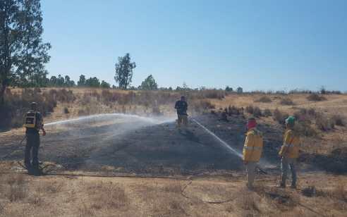 טרור הבלונים: 29 שריפות שנגרמו מבלונים פרצו בעוטף עזה