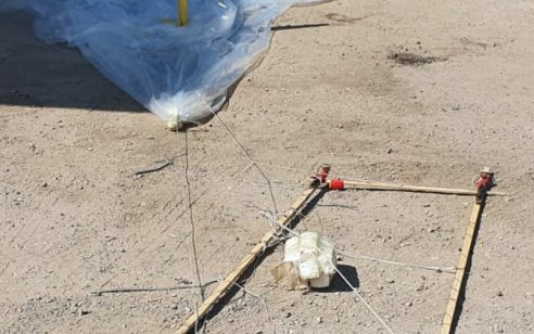טרור הבלונים: חבלנים ניטרלו בלון עם מטען חבלה שאותר בערד – לפחות 13 שריפות מבלונים בעוטף