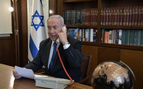 """לשכת נתניהו: ההסכם בין ישראל לאמירויות לא כלל הסכמה לעסקת נשק בין ארה""""ב לאמירויות"""