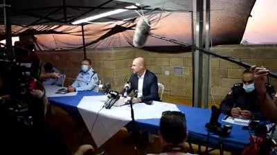 """השר אוחנה בשדרות: """"נערכים לביצוע מתקפות נרחבות יותר על חמאס ומחוללי הטרור הנוספים"""""""