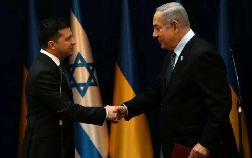 נשיא אוקראינה: לבקשת נתניהו, נגביל את מספר הבאים לאומן