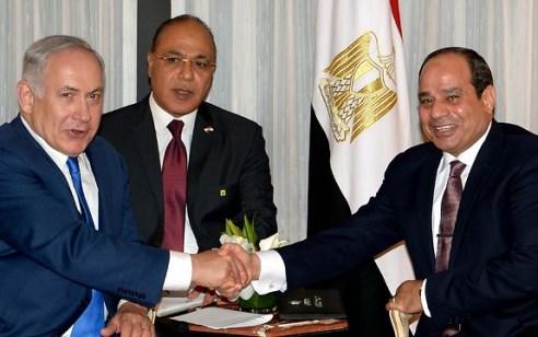 """נתניהו שוחח בטלפון עם נשיא מצרים א-סיסי: """"תומכים בכל צעד שיכול להשכין שלום באזור"""""""