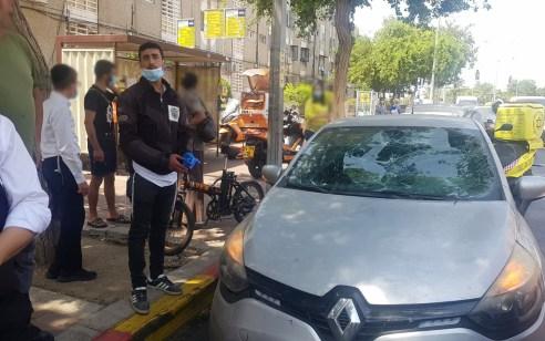 רוכב אופניים חשמליים כבן 30 נפצע בינוני עד קשה בתאונה באשדוד