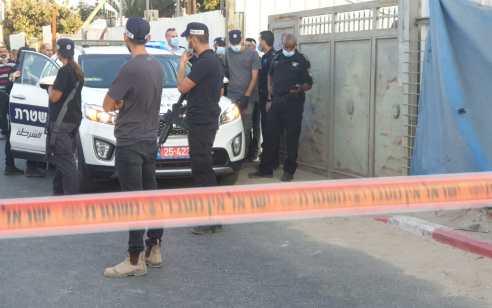חשד לרצח בלוד: גבר כבן 35 נמצא ירוי באתר בנייה