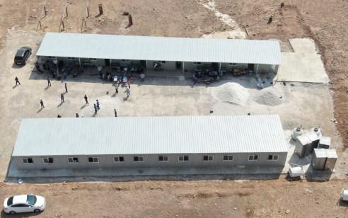 """הרש""""פ שוברת שיאים: בית ספר חדש ובלתי חוקי נבנה בין לילה בבקעת הירדן"""