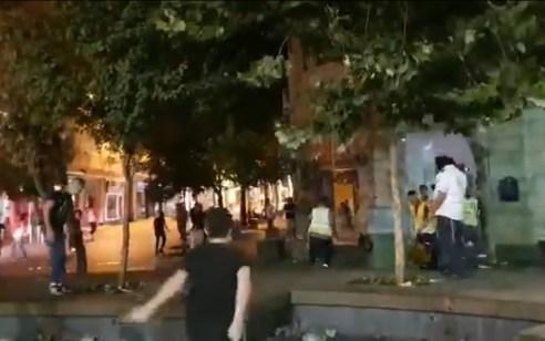 ירושלים: 11 חשודים נעצרו הלילה בשתי קטטות במרכז העיר | תיעוד