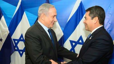 הונדורס: נעביר את השגרירות שלנו לירושלים עד סוף השנה