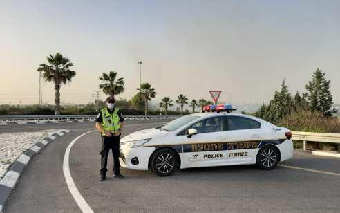 נהג חדש נתפס במהירות מופרזת על כביש 1 – ברכבו נמצאו 2 נוסעים שהפרו בידוד