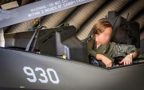 אחת ויחידה: טייסת האדיר הראשונה בחיל האוויר מונתה לסגנית מפקד טייסת F35