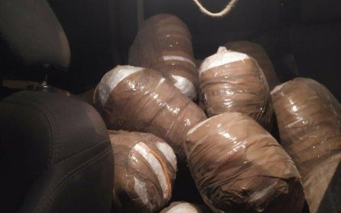סוכלה הברחת סמים בגבול מצרים: 50 שקים בשווי מיליוני שקלים