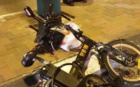 הקטל בכבישים: נקבע מותו של רוכב אופניים שנפגע ממשאית סמוך לקציר