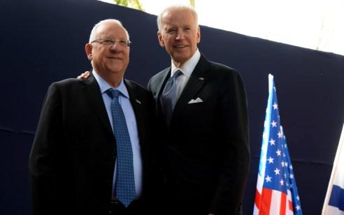 הנשיא ריבלין שוחח עם הנשיא האמריקני הנבחר ביידן ובירך אותו על ניצחונו בבחירות