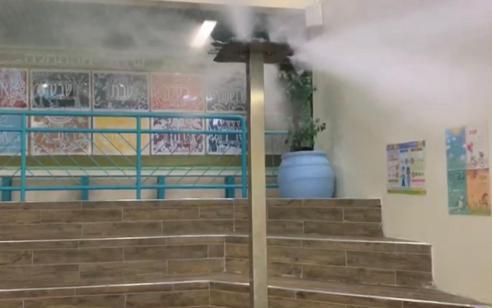 שיטה חדשנית למניעת הדבקה בקורונה שפותחה בישראל מופעלת לראשונה בבית ספר בצפת!