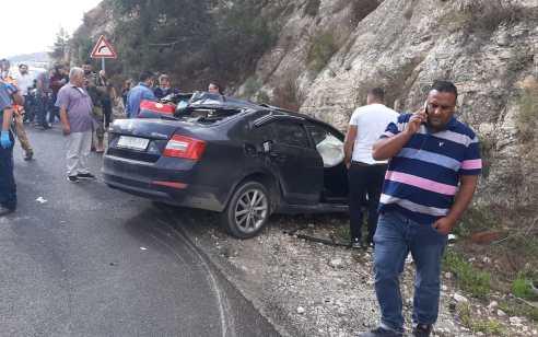 גבר בן 43 נהרג בתאונה חזיתית בכביש 60