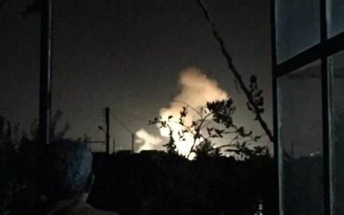ישראל תקפה מטרות בדרום קוניטרה וסמוך לדמשק שבסוריה
