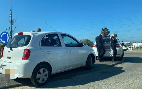 המשטרה ביצעה אכיפה מוגברת על עבירות תנועה בכפרים פורדיס וג'סר א-זרקא