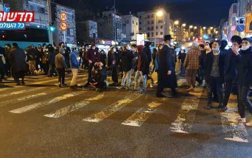 """מדינה במחאה: אלפים מחו ברחבי הארץ על הרג הנער אהוביה סנדק ז""""ל בידי שוטרים. כ-50 עצורים"""