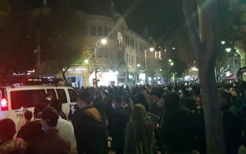 הריגת הנער במרדף המשטרתי: מאות הפגינו בירושלים – 37 חשודים נעצרו