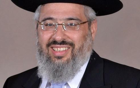 הרב ישראל מאיר ביטון נבחר לרב הראשי של חדרה