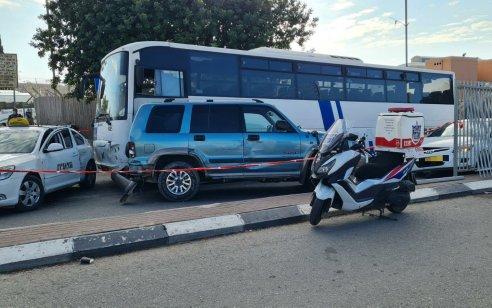 התאונה הקטלנית בירושלים: תושב השטחים נעצר בחשד שנהג באוטובוס בידיעתו של הנהג הרשמי
