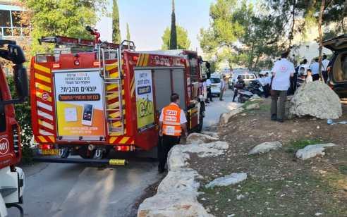 ירושלים: 3 תלמידי ישיבה נפצעו כתוצאה משריפה במבנה ישיבה