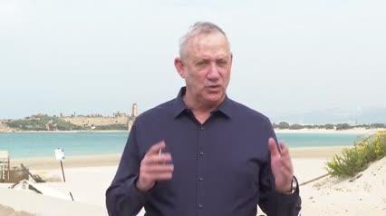 """גנץ: """"איראן ממשיכה להדליק את האזור בחוסר יציבות – כולנו צריכים לשלב ידיים במאבק נגדה"""""""