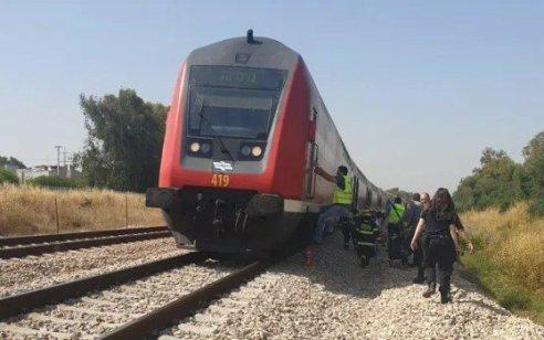 הולכת רגל נהרגה מפגיעת רכבת סמוך לקיבוץ יגור
