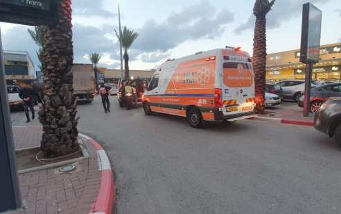 הולך רגל כבן 50 נפגע מרכב באשדוד – מצבו בינוני