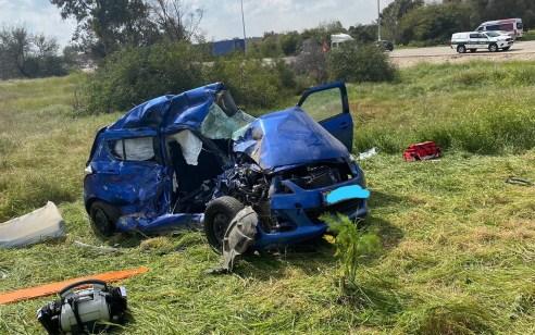 לוחם במילואים נהרג ולוחם נוסף נפצע קשה בתאונה בין משאית לרכב סמוך לצומת רעים בדרום