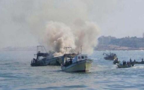 רקטה ששוגרה מעזה לעבר הים פגעה בסירה עזתית – שלושה נהרגו ושניים נפצעו קשה
