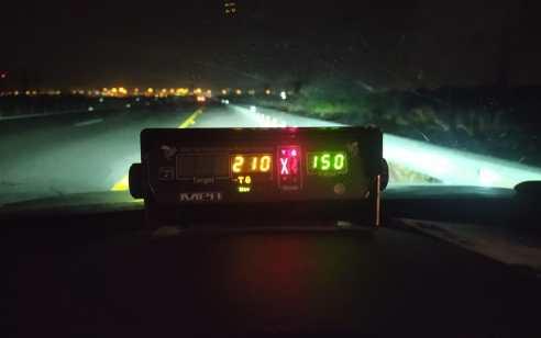 """כביש 9: תושב ג'ת נתפס במהירות חריגה של 210 קמ""""ש"""