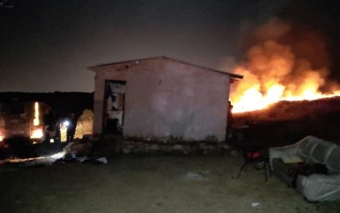 פיגוע בבנימין: מחבלים ניסו לשרוף בית על יושביו – לוחמי צה״ל פתחו בסריקות