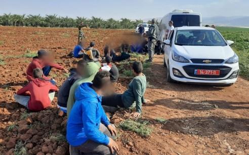 """אחרי מרדף רגלי: נעצרו 21 שבח""""ים – 5 מתוכם חשודים ביידוי אבנים לעבר אוטובוס בצפון"""
