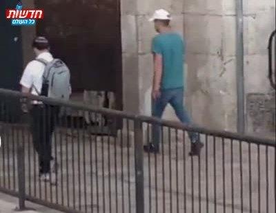הוארך מעצרם של שני הערבים שתיעדו עצמם שופכים קפה רותח על פניו של יהודי בשער שכם
