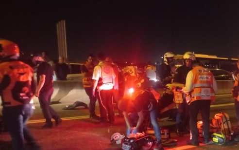 רוכב אופנוע בן 21 נהרג בתאונה בכביש 471