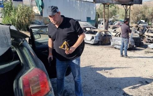 פעם שניה בתוך שבוע: ראש מועצת שומרון יוסי דגן שלף אקדח ולכד חוליית זורקי אבנים