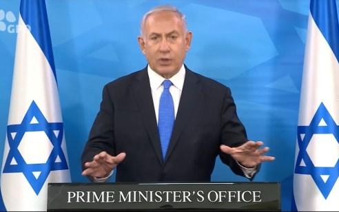 """נתניהו: """"מה שקורה בערי ישראל הוא בלתי נסבל – אתם לא יכולים לקחת את החוק לידיים"""""""