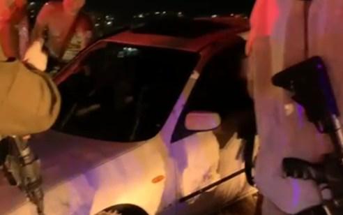 ניסיון פיגוע: מחבל חוסל לאחר שניסה לדרוס חיילים במחסום צבאי סמוך לצומת דהרייה – אין נפגעים