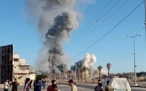 """צה״ל תקף את דירתו המבצעית של מפקד מערך הכטב""""ם של חמאס"""